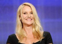 "Actress Nicollette Sheridan from the television show ""Honeymoon for One"" takes part in a panel discussion during the Hallmark Channel portion of the Press Tour for the Television Critics Association in Beverly Hills, California, July 27, 2011. REUTERS/Gus Ruelas"