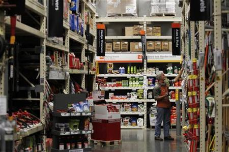 A Home Depot store is pictured in Daly City, California, February 21, 2012. REUTERS/Beck Diefenbach