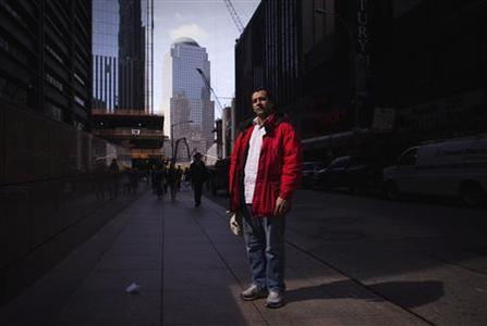 Egyptian-born U.S. cab driver Mohamed Helmy Ammar poses for a portrait in New York March 8, 2012.   REUTERS/Lucas Jackson