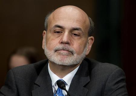 Federal Reserve Chairman Ben Bernanke testifies before the Senate Banking Housing and Urban Affairs committee in Washington March 1, 2012. REUTERS/Gary Cameron