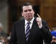 Canada's Industry Minister Christian Paradis speaks during Question Period in the House of Commons on Parliament Hill in Ottawa March 15, 2012. REUTERS/Chris Wattie