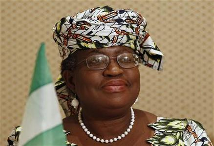 Nigerian Finance Minister Ngozi Okonjo-Iweala speaks during a media briefing in Pretoria March 23, 2012. REUTERS/Siphiwe Sibeko