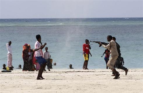 A day at the beach in Somalia
