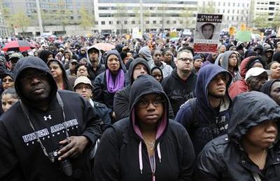 Rallies held around country for Trayvon Martin