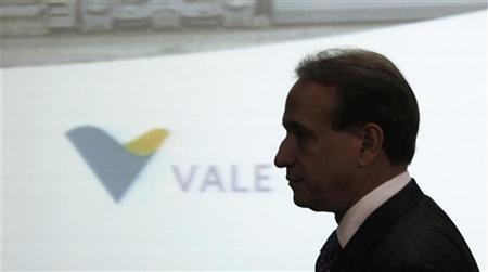 Murilo Ferreira, the chief executive of Brazilian miner Vale arrives to sign infrastructure investment agreements in Sao Paulo July 22, 2011. REUTERS/Nacho Doce