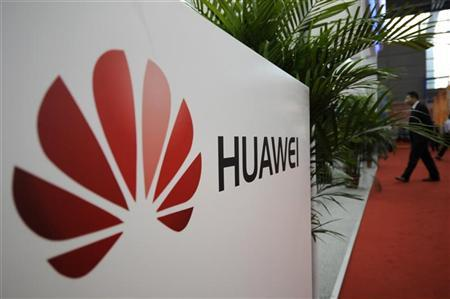 A logo of Huawei Technologies Co. Ltd. is seen at the 13th China Hi-Tech Fair in Shenzhen, Guangdong province November 16, 2011. REUTERS/Stringer