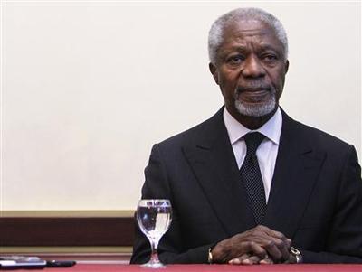 Syria responds to Annan peace plan, spokesman says