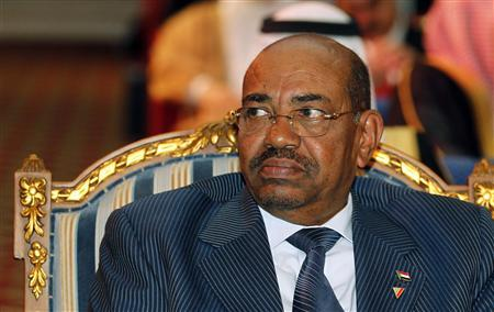 Sudan's President Omar Hassan al-Bashir attends the opening ceremony of the Connect Arab Summit in Doha March 6, 2012. REUTERS/Mohammed Dabbous