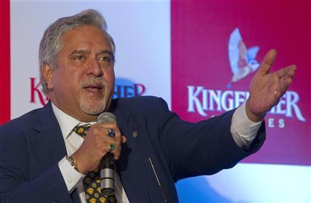 Kingfisher Airlines Chairman Vijay Mallya speaks to the media during a news conference in Mumbai November 15, 2011. REUTERS/Vivek Prakash
