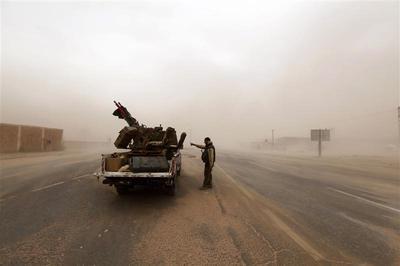 Libya's militias clash