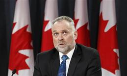 Canada's Auditor General Michael Ferguson speaks during a news conference on the release of his report in Ottawa April 3, 2012. REUTERS/Chris Wattie
