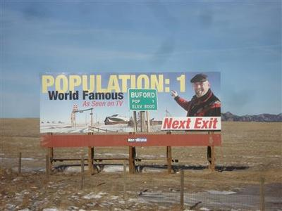 Wyoming town - population 1 - sells for $900,000 to...