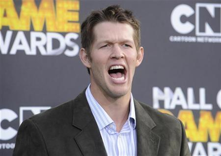 The Los Angeles Dodgers Clayton Kershaw arrives at the Cartoon Network's Hall of Game Awards in Santa Monica, California on February 18, 2012. REUTERS/Phil McCarten