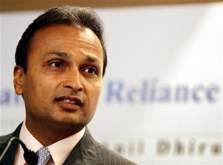 Anil Dhirubhai Ambani Enterprises group's Chairman Anil Ambani speaks during a news conference in Mumbai March 6, 2006. REUTERS/Punit Paranjpe