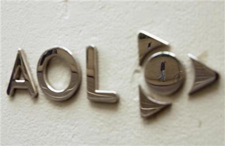 4月9日、インターネット大手の米AOLは800件を超える特許を米マイクロソフトに10億5600万ドルで売却すると発表。写真はニューヨークにあるAOLのオフィスビル。2009年5月撮影(2012年 ロイター/Lucas Jackson)