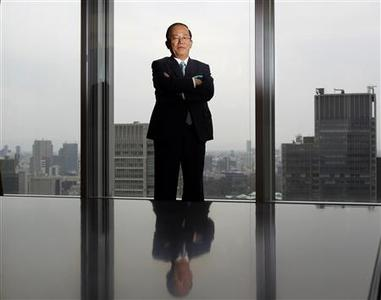 Daiwa Institute of Research Chairman Toshiro Muto poses after an interview with Reuters in Tokyo March 30, 2012. REUTERS/Yuriko Nakao