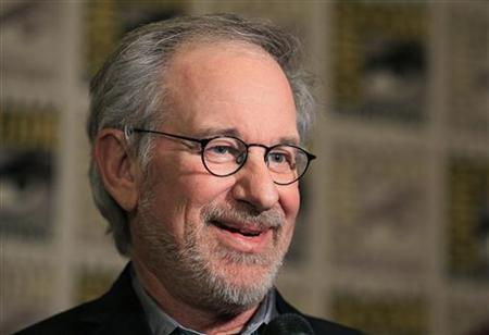 Director Steven Spielberg in San Diego, California in this July 22, 2011 file photo. REUTERS/Mike Blake/Files