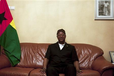 Guinea-Bissau ruling party presidential candidate Carlos Gomes Junior poses for a picture in his residence in the capital Bissau March 15, 2012. REUTERS/Joe Penney