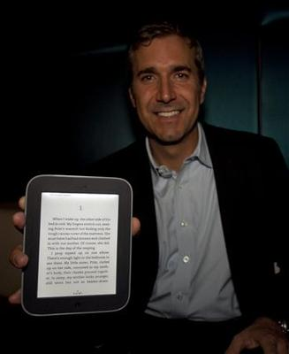 Barnes & Noble unveils glow-in-the-dark Nook