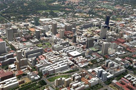 Cityscape of Pretoria, the capital of South Africa, February 14, 2010. REUTERS/Euroluftbild.de