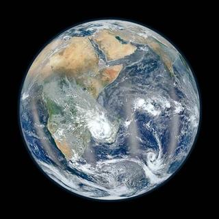 A view of the eastern hemisphere of earth from space is shown in this undated NASA handout photo obtained by Reuters February 6, 2012. REUTERS/NASA/Handout.