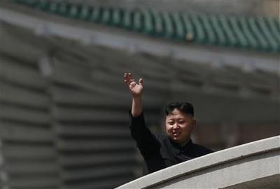 Secure despite rocket fiasco, North Korea's Kim lauds...