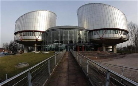 General view of the European Court of Human Rights building in Strasbourg, February 7, 2012. REUTERS/Vincent Kessler