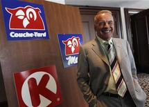Alimentation Couche-Tard Inc.'s President and Chief Executive Alain Bouchard poses for a picture after the company's annual shareholders meeting in Laval, August 31, 2010. REUTERS/Shaun Best