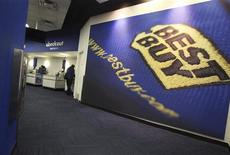 The inside of a Best Buy store is seen in New York, March 26, 2012. REUTERS/Shannon Stapleton