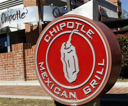 A Chipotle Mexican Grill restaurant is seen in Redlands, California February 9, 2011. REUTERS/Lucy Nicholson