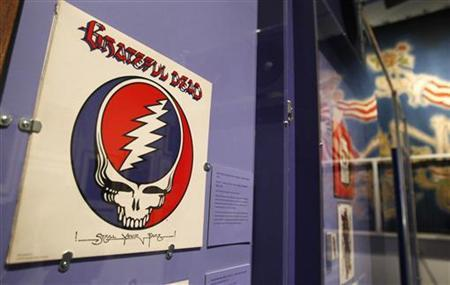 The cover of the Grateful Dead's album ''American Beauty'' is seen at the ''Grateful Dead: Now Playing at the New-York Historical Society'' exhibit in New York, March 5, 2010. REUTERS/Shannon Stapleton