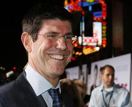 Rich Ross, chairman of The Walt Disney Studios smiles at the premiere of the new Disney film ''Old Dogs'' in Hollywood, California November 9, 2009. REUTERS/Fred Prouser