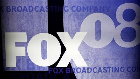 The Fox logo is pictured on a signage at the Fox TV network summer press tour in Beverly Hills, California in this July 14, 2008 file photo. REUTERS/Fred Prouser/Files