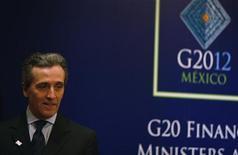 Il vice ministro dell'Economia Vittorio Grilli. REUTERS/Bernardo Montoya