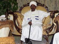 Sudanese President Omar Hassan al-Bashir, July 1, 2011. REUTERS/Mohamed Nureldin Abdallah