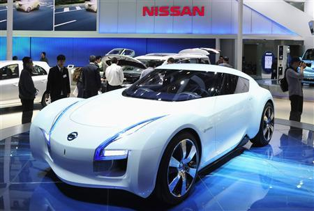 A Nissan PIVO 3 concept car is displayed at Auto China 2012 in Beijing April 24, 2012. REUTERS/Jason Lee