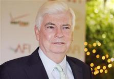 Chris Dodd, chief executive of the Motion Picture Association of America, arrives at the AFI Awards in Beverly Hills, California January 13, 2012. REUTERS/Fred Prouser