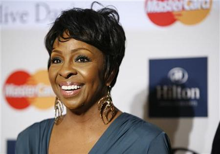 Singer Gladys Knight arrives at the Clive Davis and Recording Academy Pre Grammy Gala and Salute to Industry Icons in Beverly Hills, California February 11, 2012. REUTERS/Jason Redmond