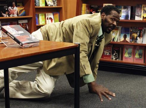 Rodney King book signing