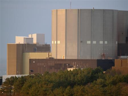 The Wylfa nuclear reactor is seen in an undated handout photo. One of the world's oldest nuclear reactors shut down for good in Britain on Wednesday evening, five days earlier than originally planned after an operational issue forced it to disconnect from the grid, operator Magnox said on Thursday. REUTERS/Magnox/Handout