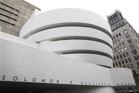 The Guggenheim Museum is seen in New York, February 17, 2010. REUTERS/Shannon Stapleton