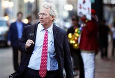 Chief Executive Officer, Chairman, and Co-founder of Chesapeake Energy Corporation Aubrey McClendon walks through the French Quarter in New Orleans, Louisiana in this March 26, 2012 file photo. REUTERS/Sean Gardner/Files