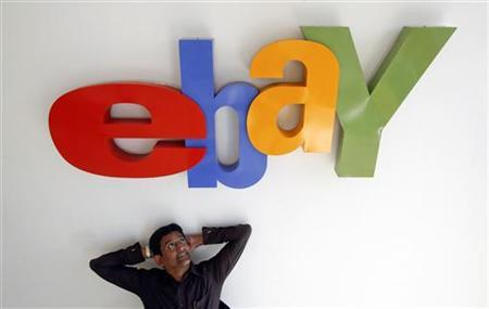 Muralikrishnan B., eBay India's Country Manager, poses for a photo at the company's head office in Mumbai April 26, 2012. EBay Inc is stepping up investment in India to boost its share of a market dominated by domestic players such as Flipkart and fend off encroachment from arch-rival Amazon.com. Picture taken April 26. REUTERS/Vivek Prakash/Files