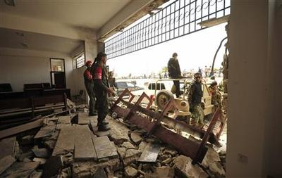 Courthouse bomb in Libya's Benghazi injures one