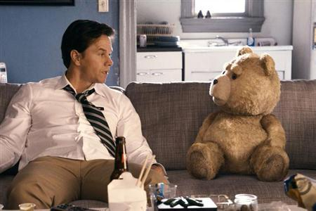 Mark Wahlberg in a scene from Seth MacFarlane's ''Ted''. REUTERS/Universal Pictures