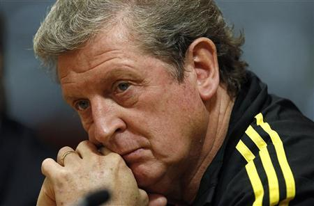 Liverpool's manager Roy Hodgson listens to questions during a news conference at the club's Anfield stadium in Liverpool, northern England, November 3, 2010. REUTERS/Phil Noble