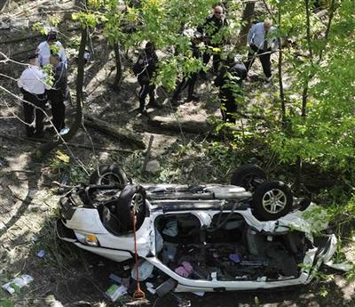 Van plunges into NY's Bronx Zoo, killing seven