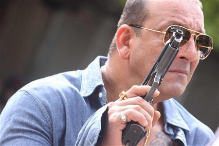 Handout movie stills of Sanjay Dutt from ''Department''. REUTERS/Handout