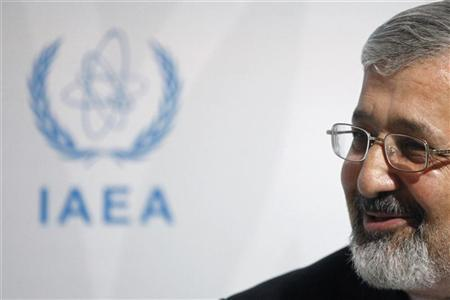 Iran's IAEA ambassador Soltanieh at an IAEA board of governors meeting in Vienna. REUTERS/Herwig Prammer