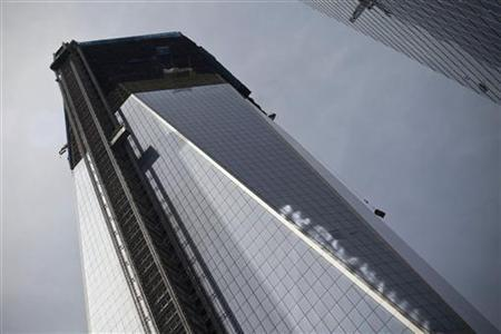 A view shows the One World Trade Center in New York April 30, 2012. REUTERS/Andrew Burton